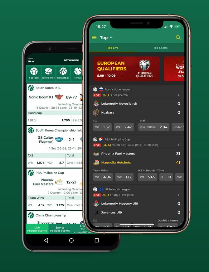 Betwinner app